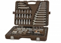 """911150 Специальный набор инструмента, торцевые головки 1/4"""", 3/8"""", 1/2""""DR 4-32 мм и SAE 5/32"""" - 1-1/4"""", ударные торцевые головки 1/2"""" 17-23 мм, 150 предметов"""