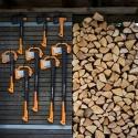 Супер набор топоров Fiskars!+подарок нож и точилка для топоров и ножей.